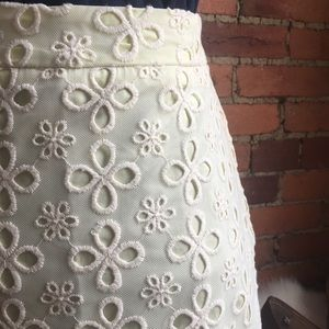 H&M trend lace overlay pencil skirt
